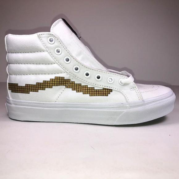 9e39b5d8fe8 Vans Nintendo Sk8 Hi Mario Bros Sneakers
